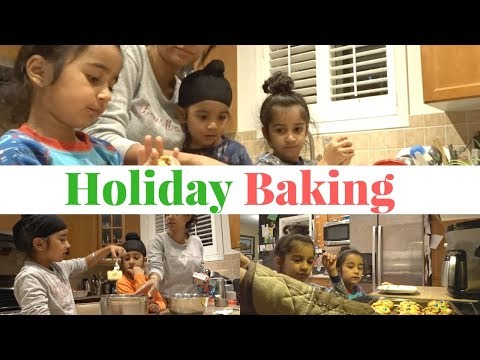 Xxx Mp4 Holiday Baking With Kids FAMILY VLOG MOM BOSS OF 3 3gp Sex