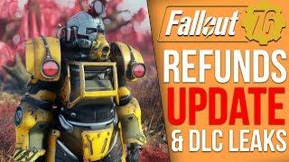 Fallout 76 News - DLC File Leak, Users Seeking Refunds, New Update Issues