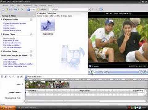 Como criar video com Windows Movie Maker