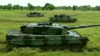 Combat Formation Indonesian Leopard 2 Main Battle Tank