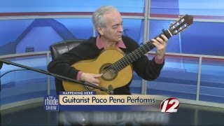 Paco Pena: World-Famous Guitarist Perfoms in RI