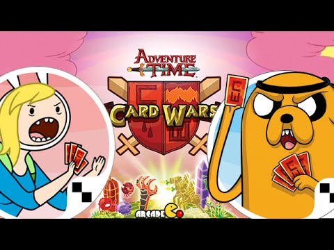 Card Wars Fionna And Cake Hero Cards