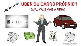 Uber ou Carro Próprio: Qual Vale Mais a Pena?