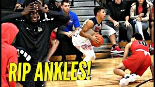 Julian Newman DESTROYS Trash Talking Defender's Ankles!! But Was It Enough? Full Highlights!!