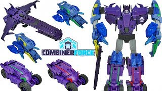 Transformers Combiner Force Galvatronus Robots in Disguise 5 Decepticons Vs Ultrabee Menasor