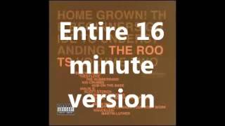The Roots   The Seed, Melting Pot, Web (LIVE) (Entire 16 minutes)
