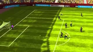 FIFA 14 iPhone/iPad - FC GahsA vs. CD Cobreloa