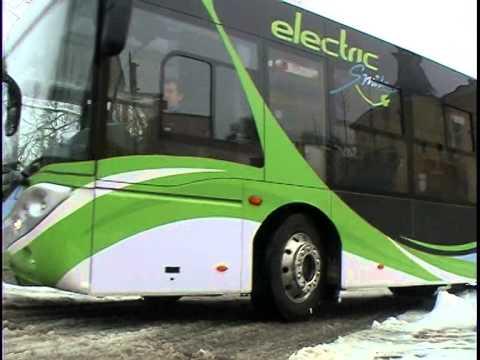 Druskininkuose -- pirmasis lietuviškas elektrinis autobusas