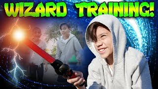 WIZARD WAND TRAINING!!! Of Dragons Fairies and Wizards!