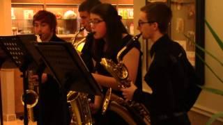 BD Saxophone Quartet - O Come, O Come, Emmanuel (12/19/2015)