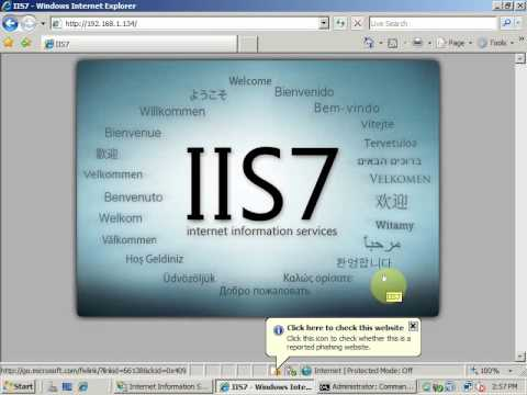 How to Install and Create a Web Site in IIS 7?. Attend live Projects @ CpocLab India.