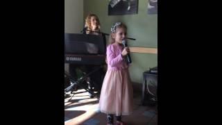 Kelowna Finley singing