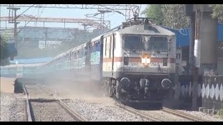 A Grand Showcase of 20 Superfast Mail/Express Trains In India !!!