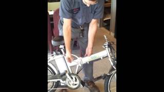 The EMMO F6 folding electric bicycle