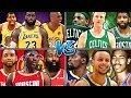 WHICH TEAM HAS THE GREATEST NBA ALL TIME TEAM? NBA 2K19
