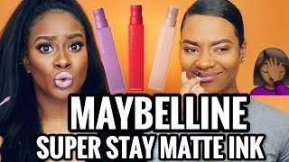 BRUTALLY HONEST REVIEW: MAYBELLINE SuperStay Matte Ink Un-Nude Swatches! MORENITA FRIENDLY OR NAH?