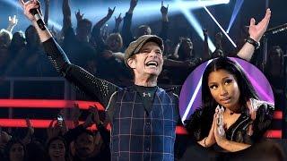 David Lee Roth Calls Out Nicki Minaj During Van Halen 2015 Billboard Music Awards Performance