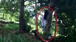 Real Ghost Caught on Dangerous Forest | #Scary #Ghost #Horror