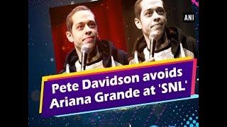 Pete Davidson avoids Ariana Grande at
