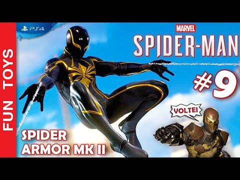 Xxx Mp4 Marvel Spider Man 9 🕷 Traje SPIDER ARMOR MK II E PODERES Tivemos Que Lutar DE NOVO Com O SHOCKER 3gp Sex