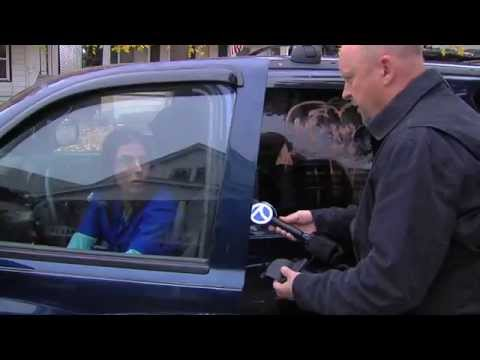Hit and Run Driver Brazen Acts Caught on Tape