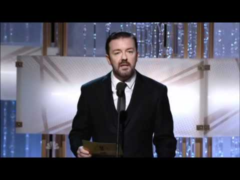 Ricky Gervais at the 2011 Golden Globes