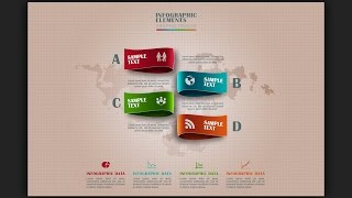 How To Make Infographic Design Template In Photoshop