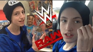 CRAZY SEARCH FOR NEW WWE FIGURES! BUYING TICKETS TO RAW???