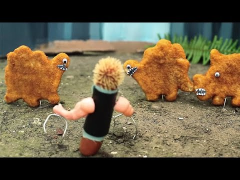 Jurassic World Parody Trailer by Sausage Party