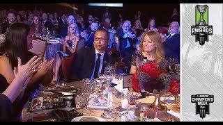 Julian Maha wins Betty Jane France Humanitarian Award