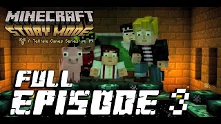 Minecraft: Story Mode - Full Episode 3: The Last Place You Look Walkthrough 60FPS HD [No Commentary]