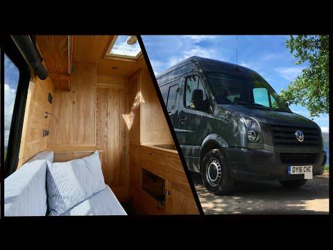 LAND YACHT Incredible NAUTICALLY Inspired VW Van Conversion