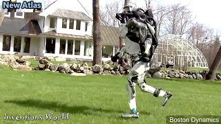 New Atlas Robot Running So Fast Like Human - Amazing Humanoid Robot from Boston Dynamics