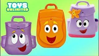 Dora the Explorer and Friends, Go Diego Go Rescue Backpack Bag