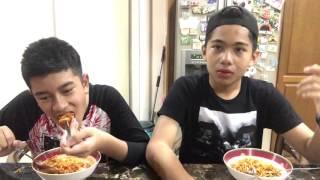 SPICY KOREAN NOODLE CHALLENGE 🔥🔥🔥