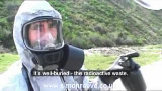 Walking into a radioactive waste dump