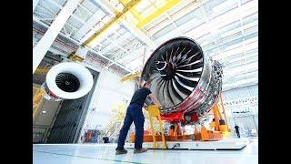 Rolls-Royce   How we assemble the Trent XWB; the world's most efficient aero engine