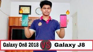 Samsung Galaxy On8 2018 VS Samsung Galaxy J8 Comparison