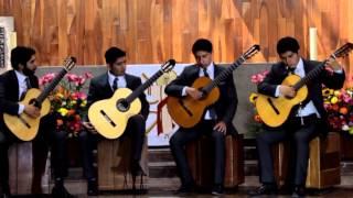 Cuarteto de Guitarras Nahui Ollin: Grises Y Soles (Maximo Diego Pujol)