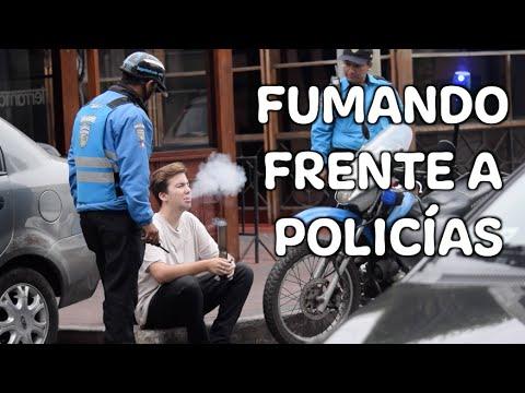 FUMANDO EN UN BONG BROMA A POLICÍAS NoTePiquesTV