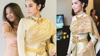 FINALE WEDDING STUDIO ชุดไทยศิวาลัย สวยสง่า วันอันทรงคุณค่า ของ อี๊ฟ พุทธธิดา ศิระฉายา
