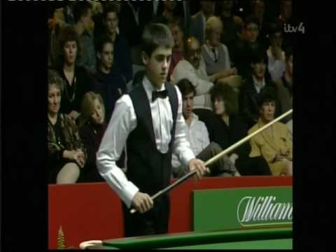 1990 young 14 year old Ronnie O sullivan first tv appearance