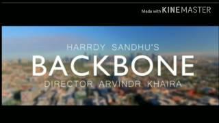 Hardy Sandhu   Backbone HD Official   Jaani   B Praak   Zenith Sidhu   Latest Romantic Song 2017   Y