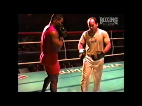 Mike Tyson Explodes on the Pads with Kevin Rooney