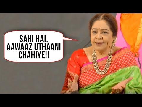 Xxx Mp4 Kirron Kher Strong Reaction On MeToo Tanushree Dutta Nana Patekar Sajid Khan 3gp Sex