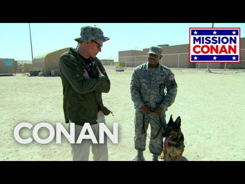 Download Lagu Conan Trains With The Military Working Dog Unit  - CONAN on TBS MP3