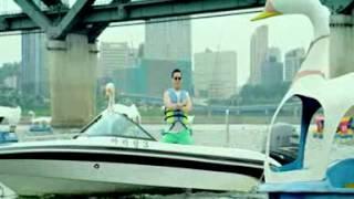 PSY & 泫雅   江南Style 騎馬舞