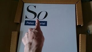 [Unboxing] 'Peter Gabriel - So' 25th Anniversary Deluxe Edition