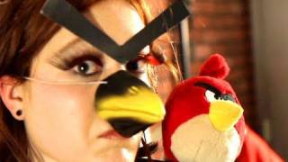 Adele Angry Birds Behind the Scenes! KEY OF AWESOME