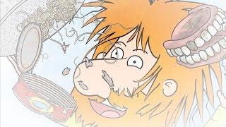 The Grimes | Funny rhyming bathtime & bedtime stories for kids! BIN MAN